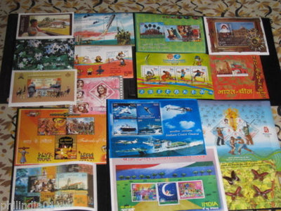 India 2008 Year Pack 16 M/s Olympic Butterfly Ship Flower China Cinema Ship MNH
