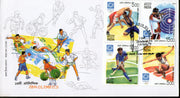 India 2004 Olympic Games Athens Se-tenant Phila-2061 FDC