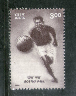 India 1998 Gostha Behari Paul Footballer Phila-1641 MNH