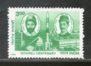 India 1998 Godrej Centenary Phila-1634 1v MNH