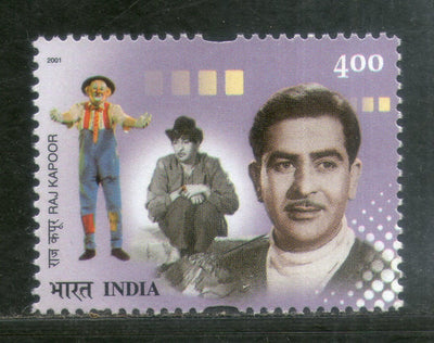 India 2001 Raj Kapoor Film Actor Phila-1880 MNH Cinema Movie