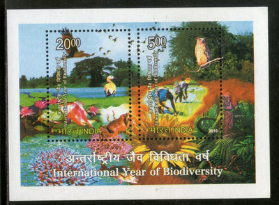 India 2010 International Year of Biodiversity M/s MNH