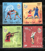 India 2016 Rio Olympic Games Brazil Shooting Boxing Wrestling Badminton Sport MNH
