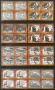India 2017 Freedom Movement Quit India Mahatma Gandhi Non-Voilence 8v BLK/4 Set MNH - Phil India Stamps