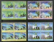 India 2018 World Environment Day Nature Health Yoga Fitness BLK/4 MNH - Phil India Stamps