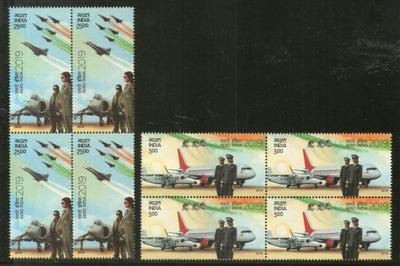India 2019 Aero India Aircraft Flag Parachute Women in Aviation BLK/4 MNH