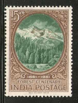 India 1961 Scientific Forestry Centenary Phila 361 MNH