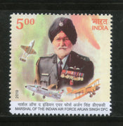 India 2019 Air Force Marshal Arjan Singh DFC Sikhism 1v MNH