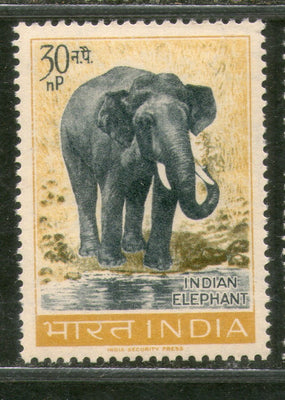 India 1963 Wildlife Indian Elephant Phila-390 1v MNH Animal Mammal