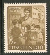 India 1963 Children's Day School Meals Phila-393 MNH