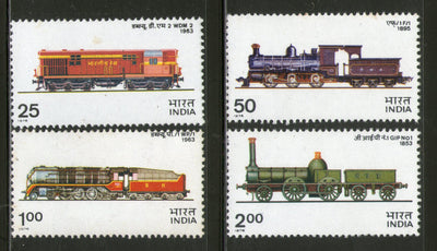 India 1976 Indian Locomotives Railway Transport Phila 685a MNH