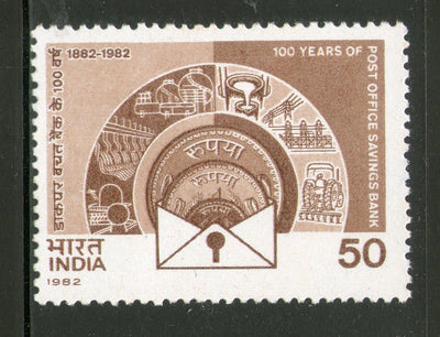 India 1982 Post Office Saving Phila-903 MNH