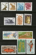 India 2000-2 9th Def. Series Nature Heritage Animals Einstein Phila-D160-71 MNH - Phil India Stamps