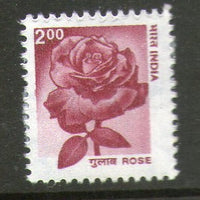 India 2000 9th Def. Series Nature Heritage - Rose Flower Phila-D163/Sg1925a MNH - Phil India Stamps