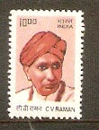 India 2009 10th Def. Builders of Modern India C V Raman 1v Phila-D180/Sg2538 MNH - Phil India Stamps