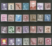 India 2015 Makers of India Definitive Series Gandhi Ramanujan Bose Nehru Tagore 28v MNH