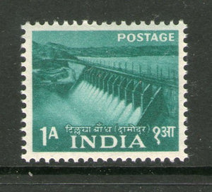 India 1955 2nd Definitive Series Five Year Plan-1An Tilaiya Dam 1v Phila-D23 MNH - Phil India Stamps