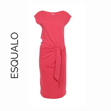 Load image into Gallery viewer, Esqualo Coral Short Sleeve Dress with Tie