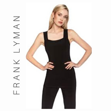 Load image into Gallery viewer, FRANK LYMAN LONG-LINE CAMISOLE - STYLE 030 (BLACK)