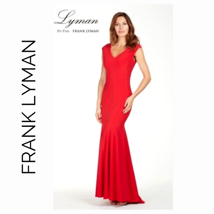 Frank Lyman Red Formal Gown