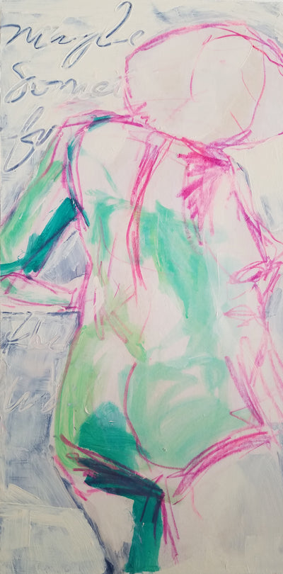 "Original Art, Figure, ""Torso"" - Sunny-Creek-Studios"