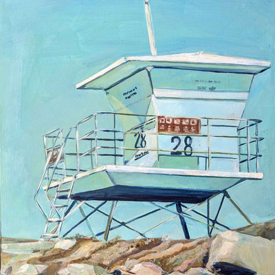 Tower 28, Teal, Carlsbad California - Sunny-Creek-Studios