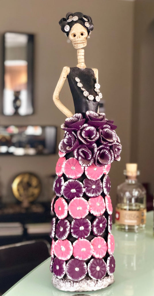Catrina Margarita in Purple & Pink