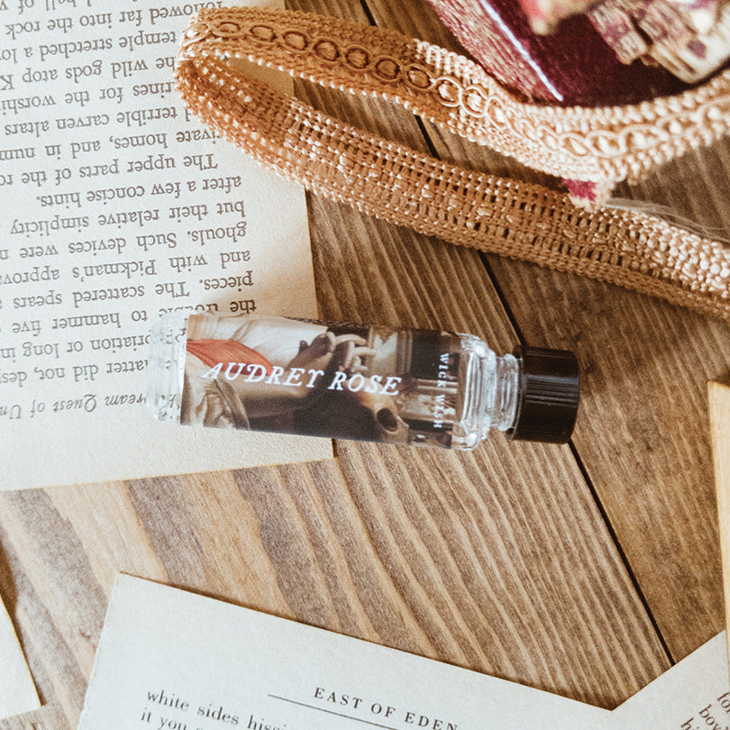 Perfume Oil | Audrey Rose | Victorian Rose. Chai Spice. Tea Leaves.