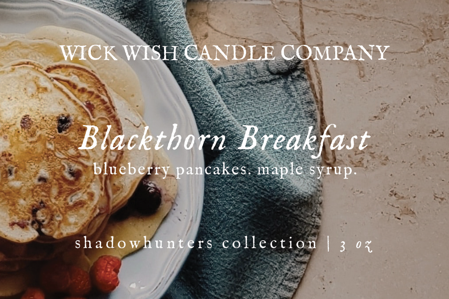 Blackthorn Breakfast | Blueberry Pancakes. Maple. | Wax Melt
