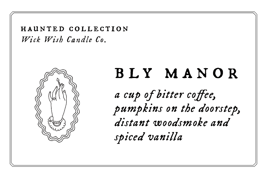 Bly Manor | Bitter Coffee. Pumpkin. Woodsmoke. Spice. | Wax Melt