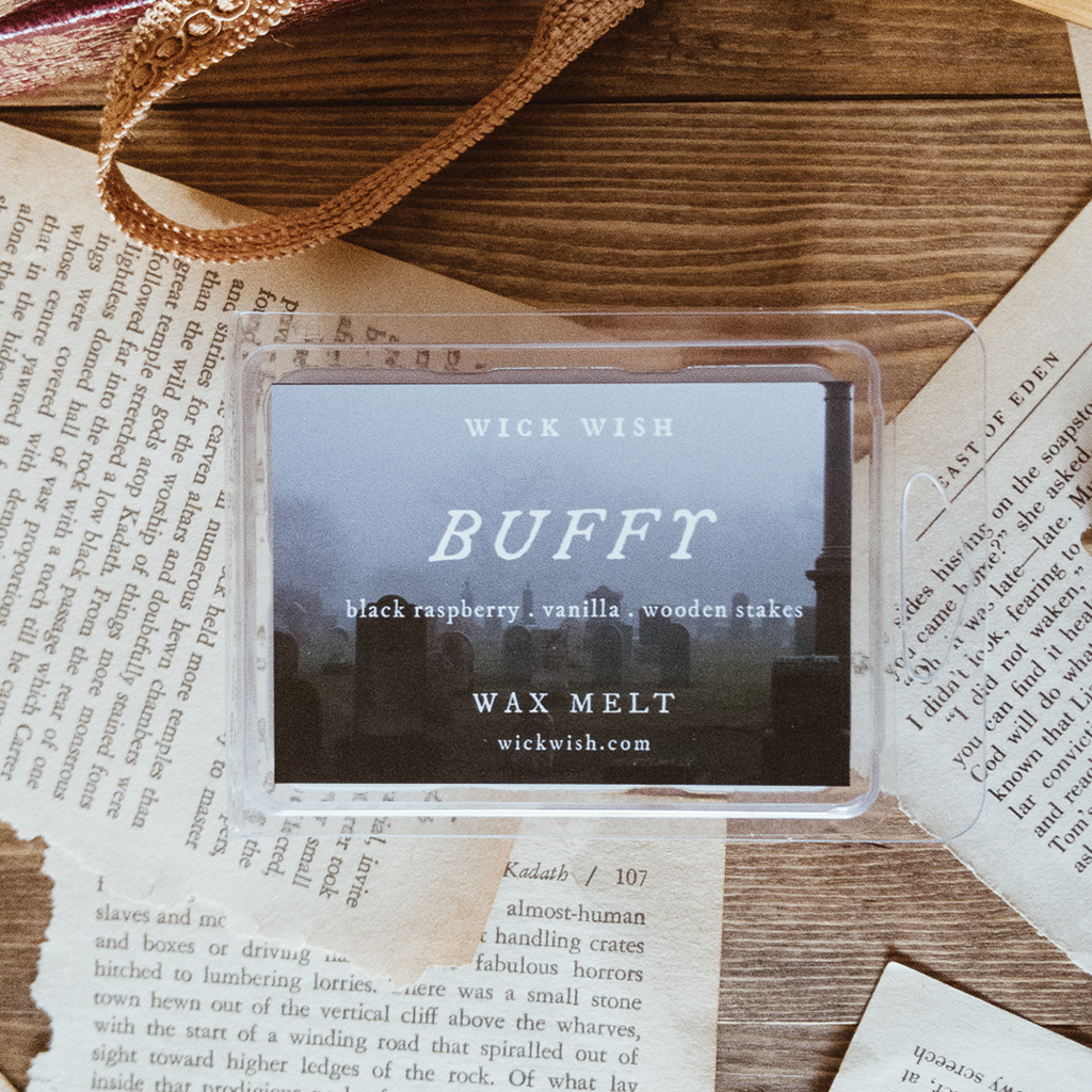 Buffy | Black Raspberry. Vanilla. Wooden Stakes. | Wax Melt