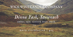 Dinna Fash, Sassenach | Amber. Rain. Scottish Moss. Musk. | Main Circulation
