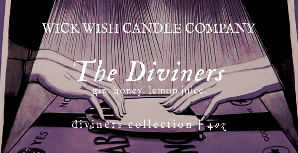 The Diviners | Gin. Honey. Lemon Juice. | Diviners Collection
