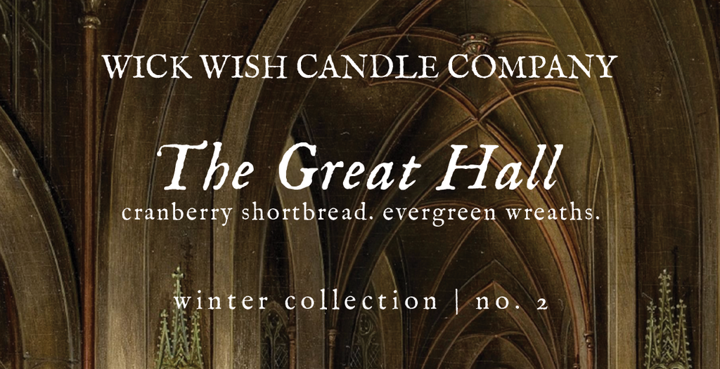 The Great Hall | Cranberry Shortbread. Evergreen Wreaths. | Winter Collection