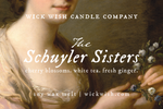 The Schuyler Sisters | Cherry Blossoms. White Tea. Fresh Ginger. | Wax Melt
