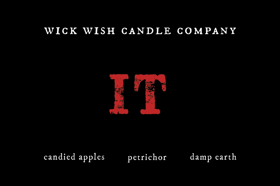 IT | Candied Apples. Petrichor. Damp Earth.| Wax Melt