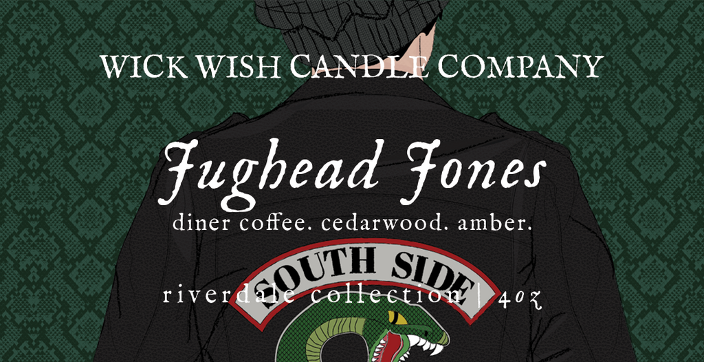 Jughead Jones | Diner Coffee. Cedarwood. Amber. | Riverdale Collection