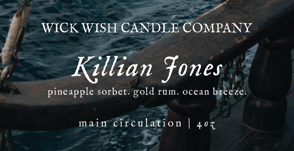 Killian Jones | Pineapple Sorbet. Gold Rum. Ocean Breeze. | Main Circulation
