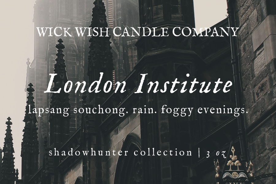 London Institute | Lapsang Souchong. Rain. Foggy Evenings. | Wax Melt