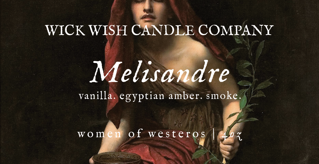 Melisandre | Vanilla. Egyptian Amber. Smoke. | Women of Westeros