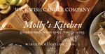 Molly's Kitchen | Gingerbread. Warm Spice. Vanilla Icing.  | Winter Collection