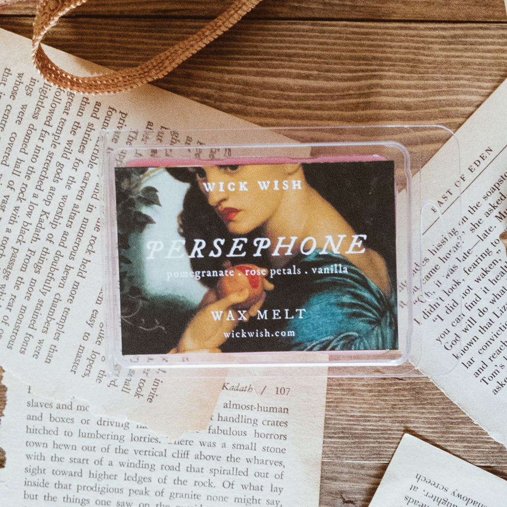 Persephone | Pomegranate. Rose Petals. Vanilla. | Wax Melt