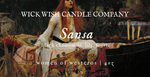 Sansa | Black Chamomile. Frost. Lily. | Women of Westeros