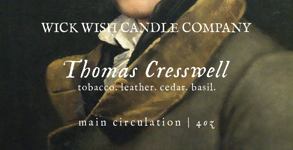 Thomas Cresswell | Tobacco. Leather. Cedar. Basil. | Main Circulation