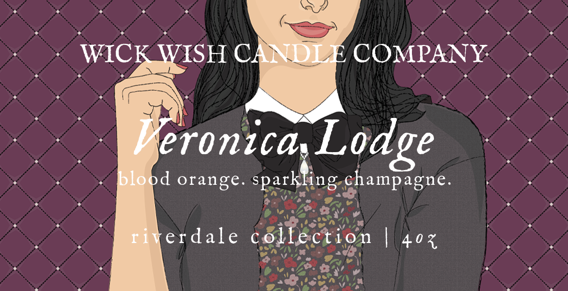 Veronica Lodge | Blood Orange. Sparkling Champagne. | Riverdale Collection