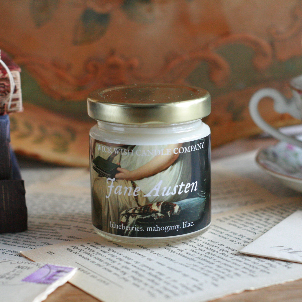 Jane Austen | Blueberries. Mahogany. Lilac.
