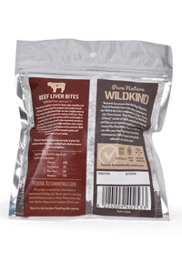 Three Snouts-Pure Nature WILDKIND Beef Liver Bites 100g
