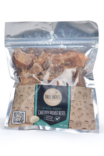 Three Snouts-Chicken Breast Bites 100g
