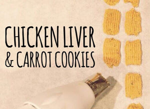 Three Snouts Chicken Liver & Carrot Cookies 125g