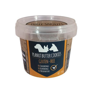 Three Snouts Peanut Butter Cookies 150g